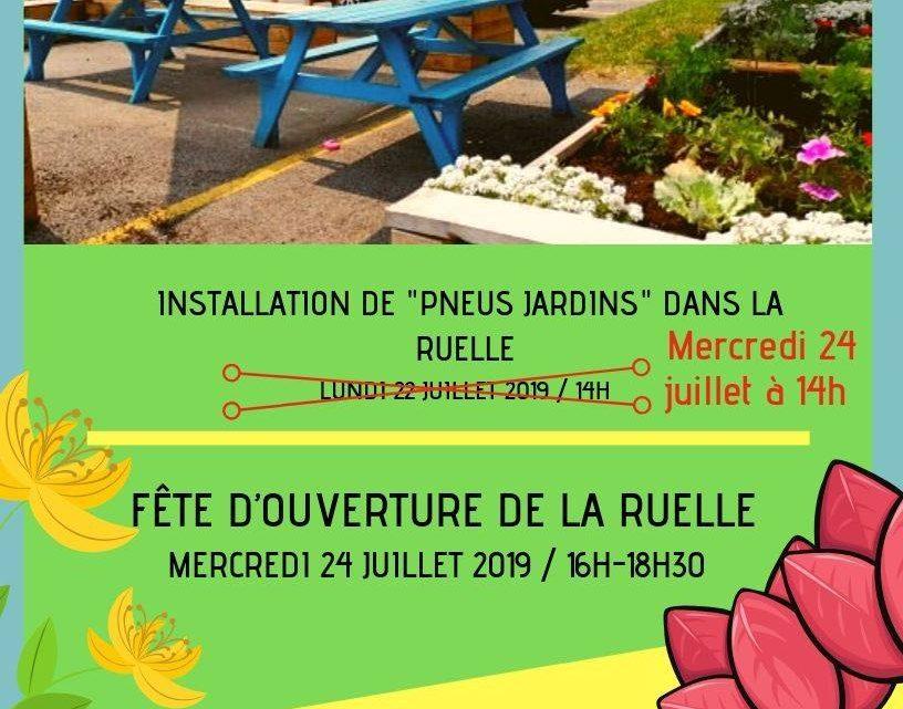 Inauguration de la Ruelle verte !