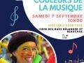 Spectacle Marimba et les couleurs de la musique à la place publique L'Île