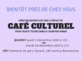 Projet de café culturel dans le quartier Vanier